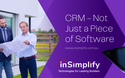 CRM – Not Just a Piece of Software